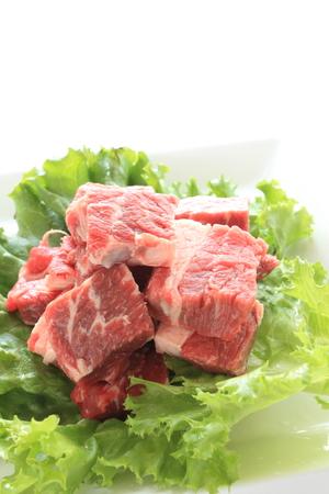the freshness: Freshness beef sirloin steak Stock Photo