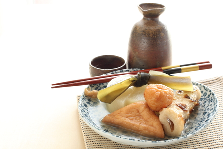 Japanese food, Oden Stock Photo - 47527559