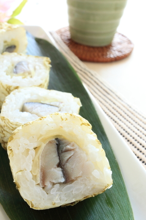 saba: Mackerel marinated Saba sushi