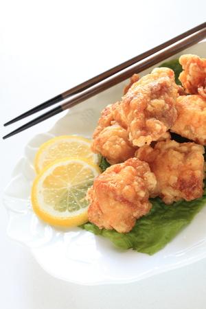 comida japonesa: pollo frito