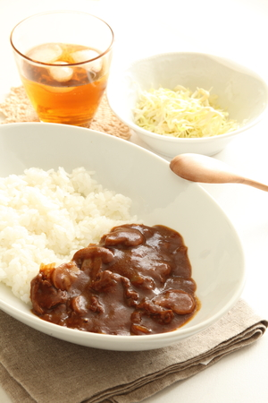 beef stew: Japanese food, Hayashi rice Beef stew