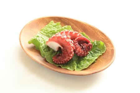 freshness: frescura hervido pulpo imagen comida japonesa para Foto de archivo