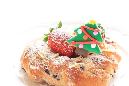 stollen: Homemade Christmas stollen