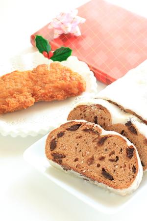 stollen: Christmas food, chicken nugget and stollen