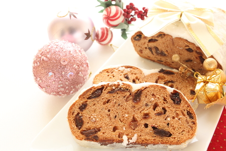 home bakery, Christmas stollen