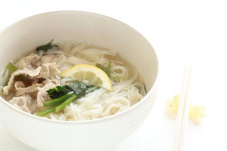 vietnamese food: Vietnamese food, pork and pho