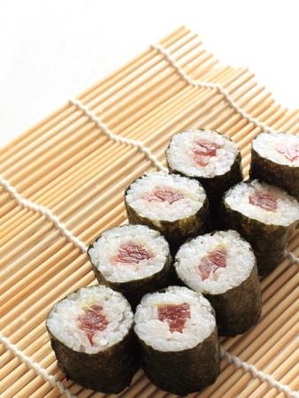 tekka: Japanese tuna fish sushi Tekka Maki