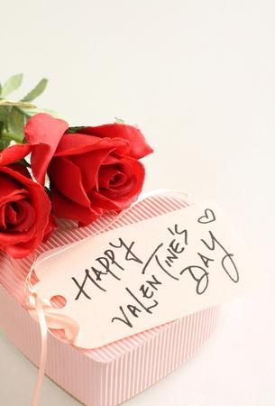 hand written: hand written Valentines day card with flower