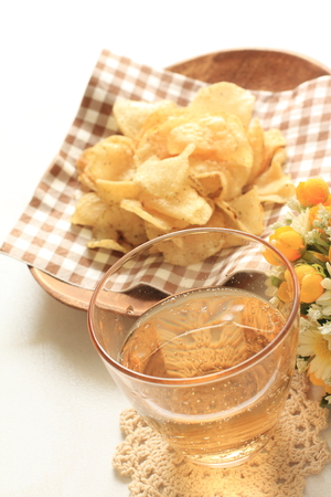 copys pace: beer and potato chips