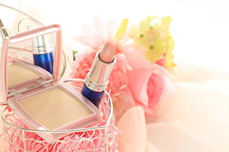 lip stick: No brand lip stick and foundation for cosmetci image