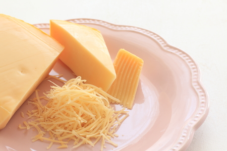Cheddar cheese Imagens
