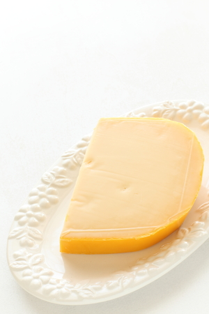 cheddar cheese: Cheddar cheese Stock Photo