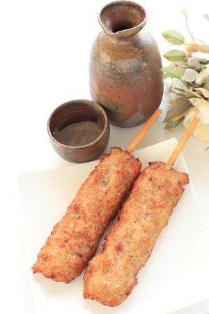 日本食、すみれ焼き鳥と酒
