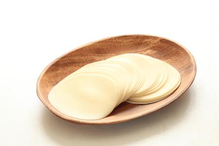 中華料理、餃子の皮 写真素材