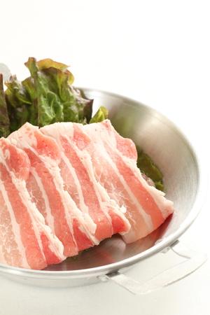 frescura: Frescura tocino de cerdo japonesa