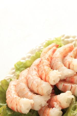 frescura: frescura prepara camarones en lechuga imagen ingrediente gourmet para