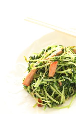stir fried: bean sprout stir fried