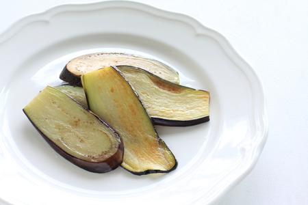 sauteed: sauteed sliced eggplant