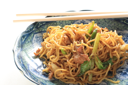 fried noodle: Chinese fried noodle
