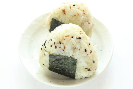 sesame rice ball