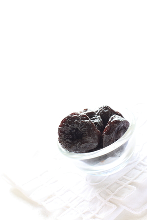 dried fruit: plum for dried fruit image Stock Photo