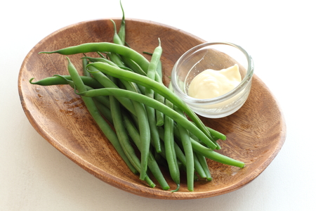 mayonesa: hervida frijol franc�s y mayonesa