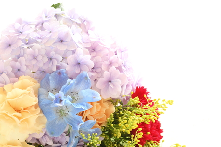 early: early summer flower bouquet