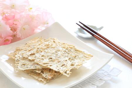 sardinas: La comida japonesa, sardinas secas