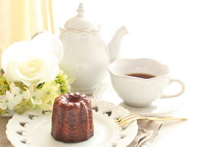 confection: french confection, cannelé de Bordeaux Stock Photo