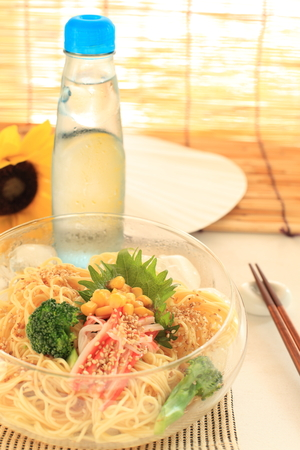 blinder: Japanee summer cold noodle with soda