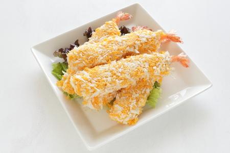 Japanese frozen food, shrimp cutlet
