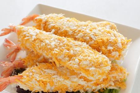 alimentos congelados: alimentos congelados japon�s, chuleta de camarones