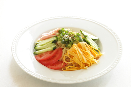 Japanese summer cuisine, HiyshiChuka cold noodles