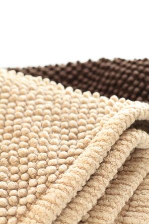 of beige: beige color bathmat