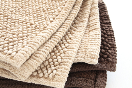 beige: beige color bathmat