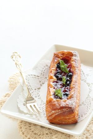 blue berry: Homemade blue berry pie