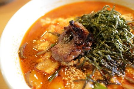 Korean soup rice