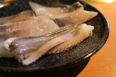 prepared: Korean barbecue, prepared squid