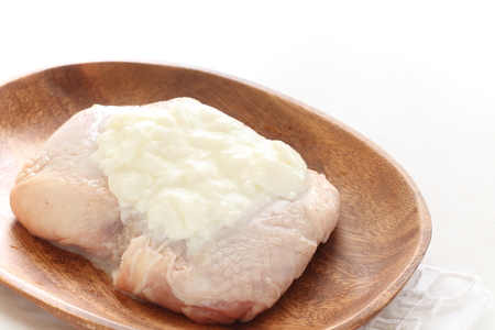 tight: prepared chicken tight with yogurt