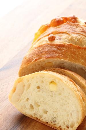 pan frances: queso pan francés