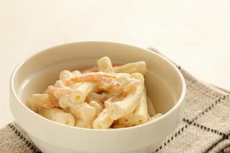 mayonesa: ensalada de macarrones con mayonesa