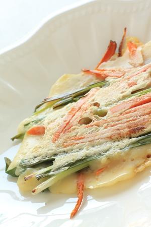 korean food: Korean food, Jijim pan cake