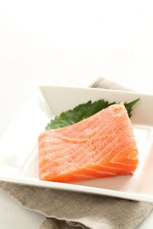 frescura: la frescura del salmón