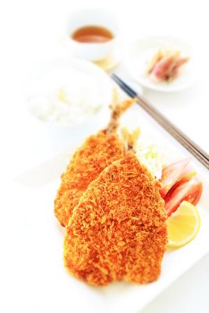 deep fried: Japanese food, deep fried sardine