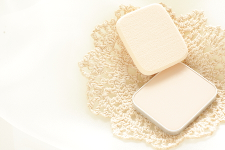 cosmetic, foundation and sponge