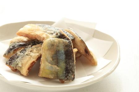 deep fried: Deep fried pacific saury