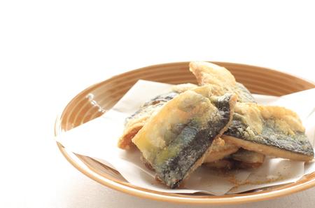 pacific: Deep fried pacific saury