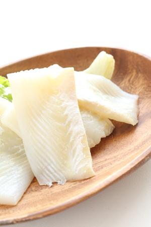 flat: flat fish fillet