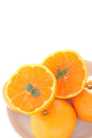 만다린 오렌지와 민트