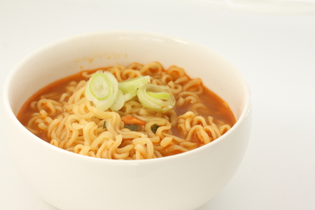 Korean spicy noodles